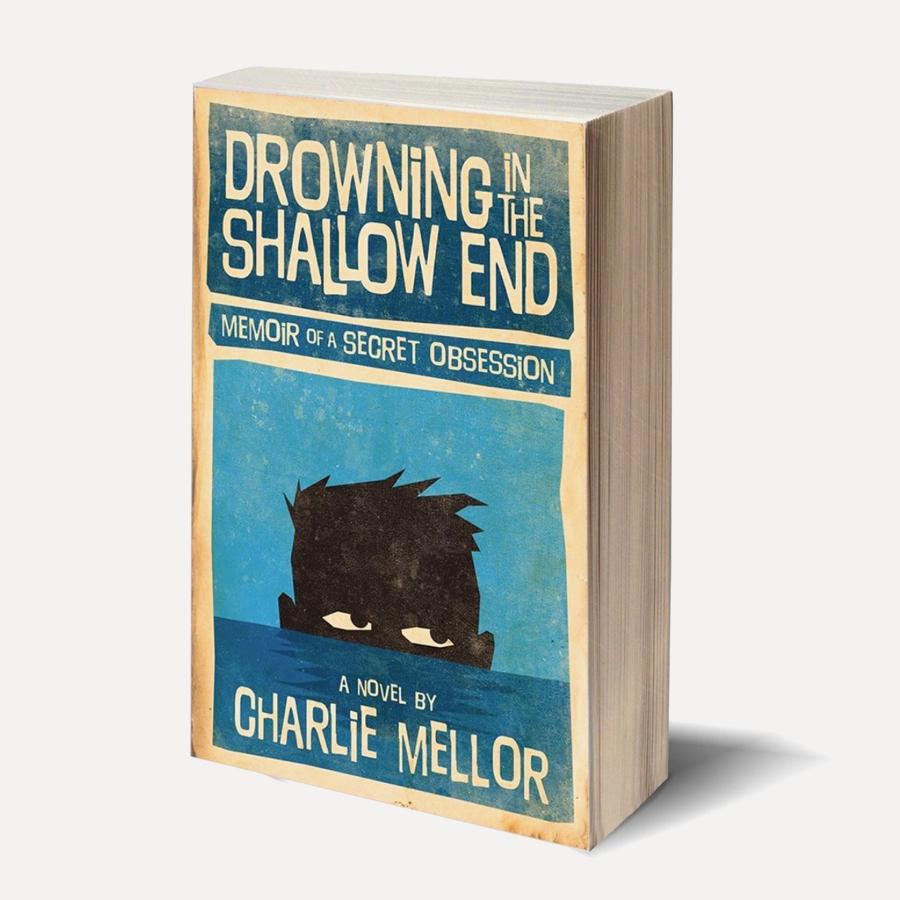 blue book cover design