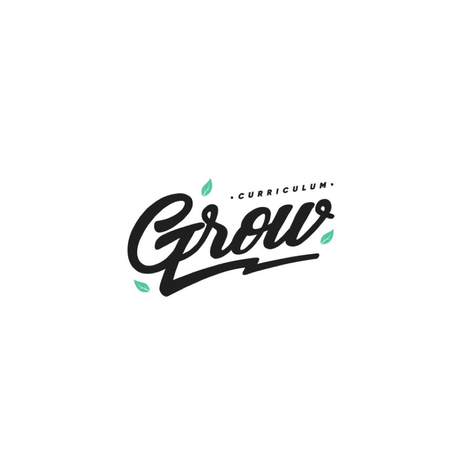 black and green wordmark logo