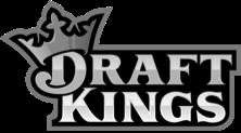 grey draft kings logo