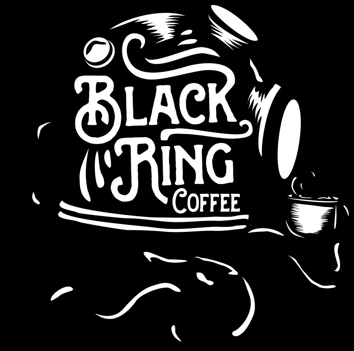 black scuba diving coffee helmet logo design