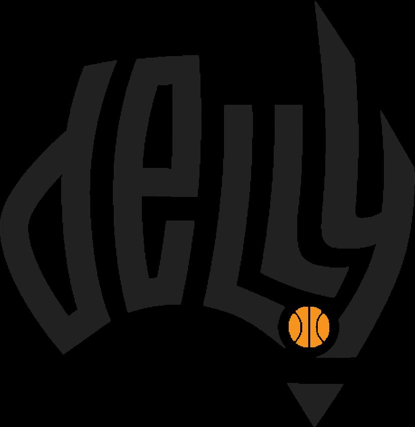 Delly basketball logo design
