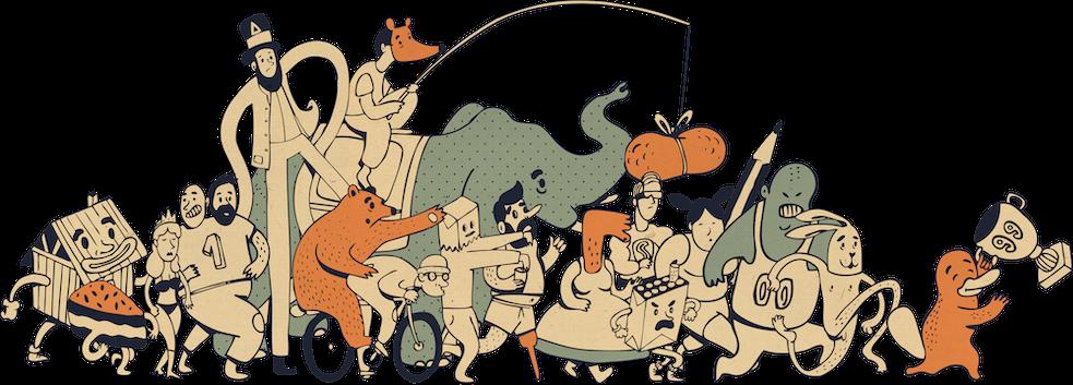 Illustratie van fiegue