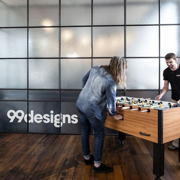 99designs office foosball table