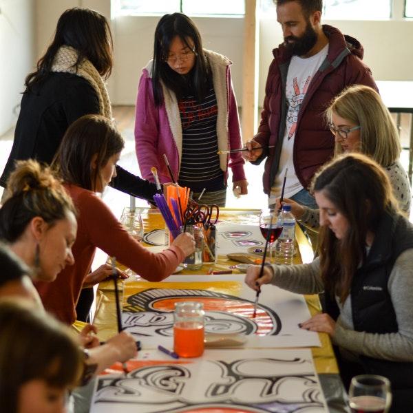 99designs staff getting crafty