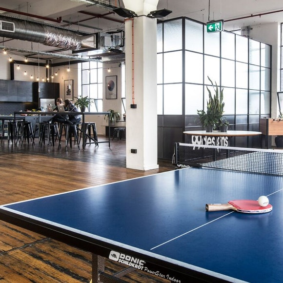 99designs office ping pong table