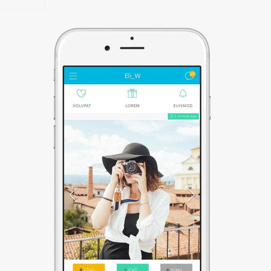 design d'application mobile