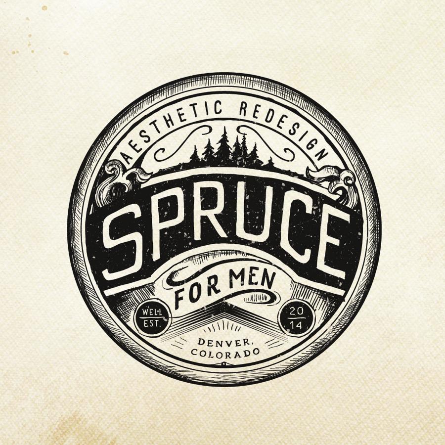 vintage emblem logo design