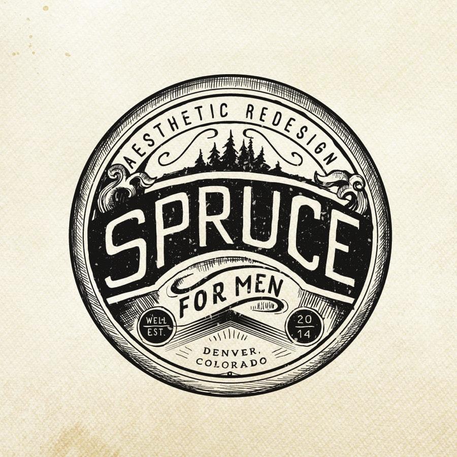 vintage embleem logo-ontwerp