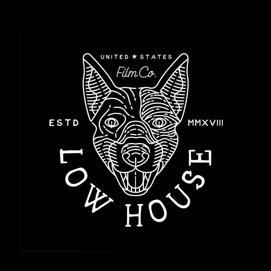 Black Dog Custom Logo Design