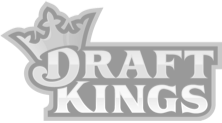 grey draft kings logo