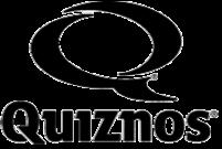 quiznosの灰色ロゴ