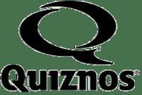 grijs quiznos logo