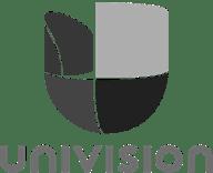 grijs univision logo