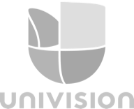 univisionの灰色ロゴ