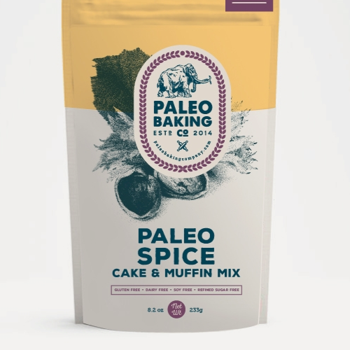 Product packaging for Paleo Backing Co. by ad_gav