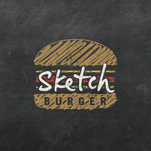 Logo design for Sketch Burger by tykw