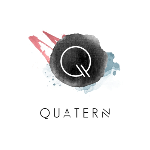 Logo design for Quatern by AnaLogo