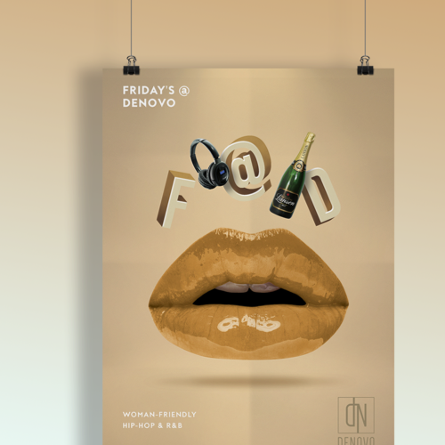 Poster for Denovo Night Club by Spatial