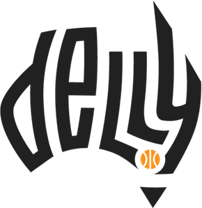 dellyバスケットボールロゴデザイン