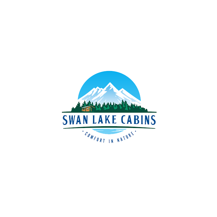 Logo design for Montana cabins in the woods by DSKY
