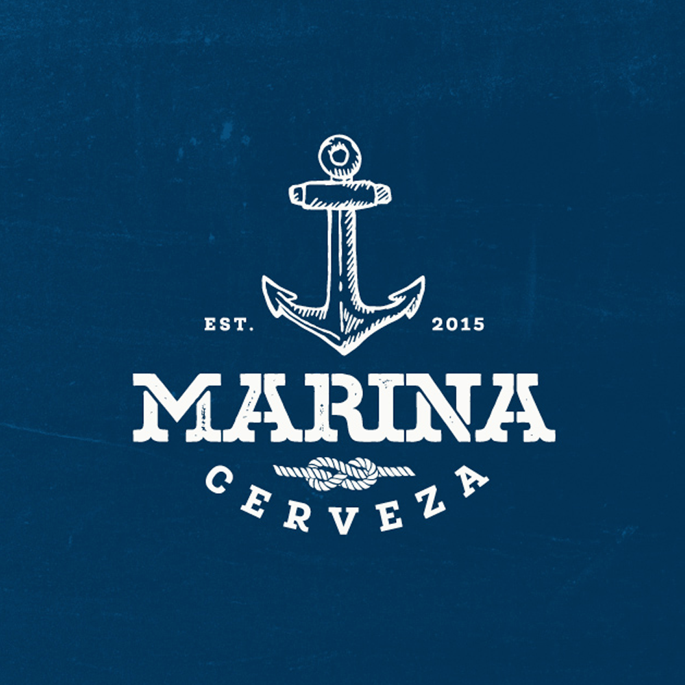 Logo design for Marina by GT Designs.