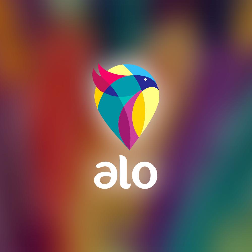 Logo design for Alo by bo_rad