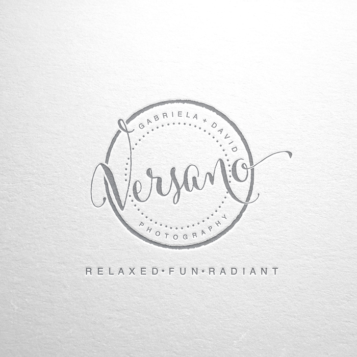Logo design for Versano Photography by Merry_elle