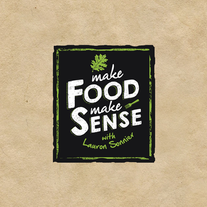 Logo design for Make Food Make Sense by Mdna