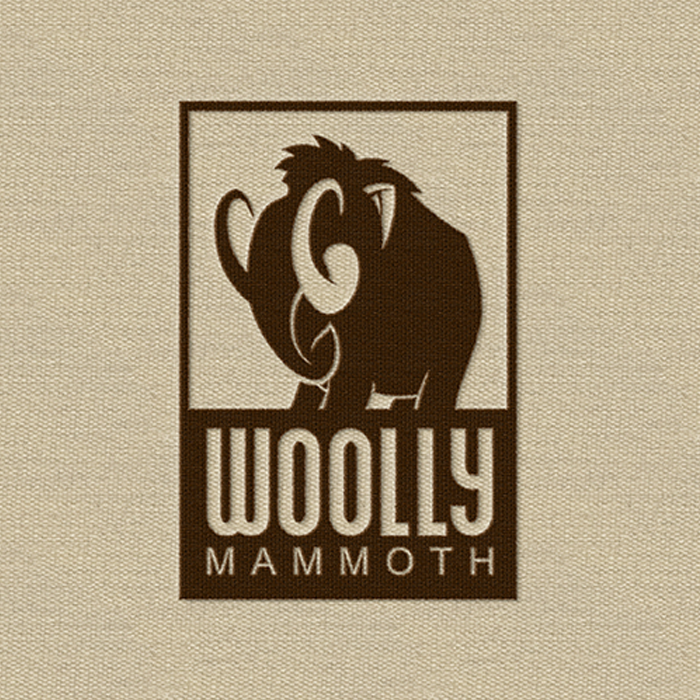 Logo design for Woolly Mammoth by Dima Che
