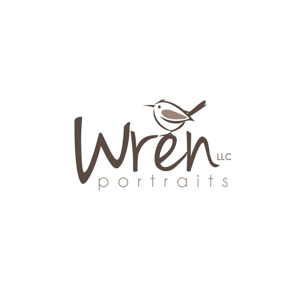 Logo design for Wren Portraits by ultrastjarna