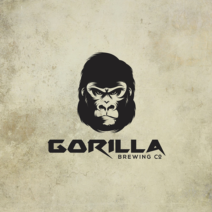 Logo design for GORILLA Brewing by maximage