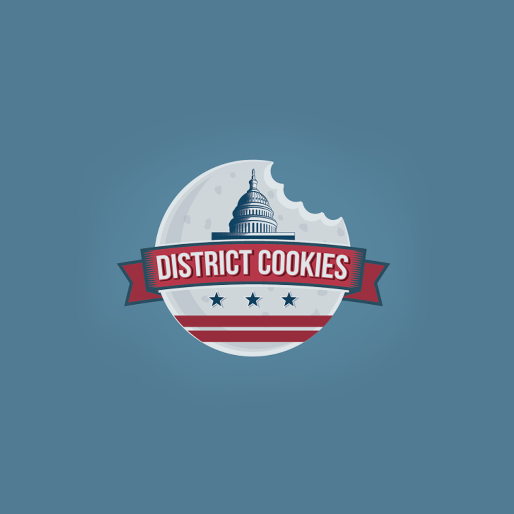 Logo design for District Cookies by Arthean