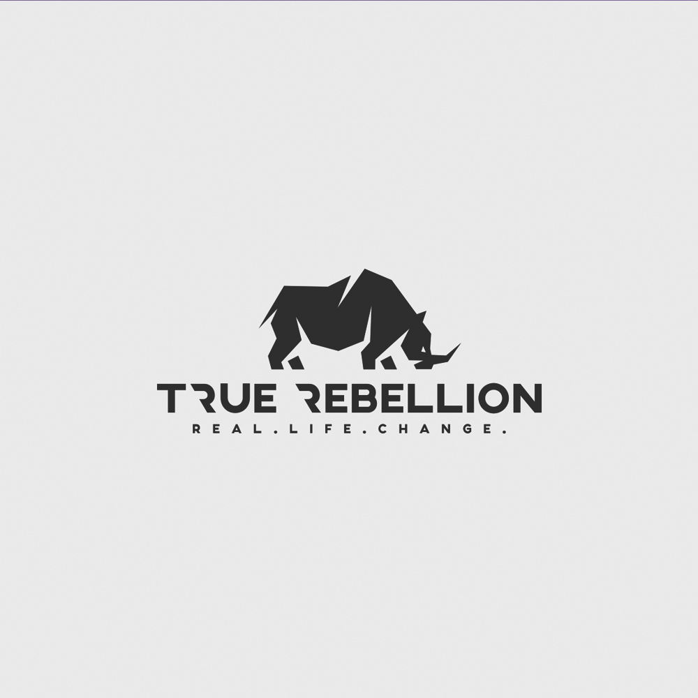 Logo design for The True Rebellion by Doris Gray