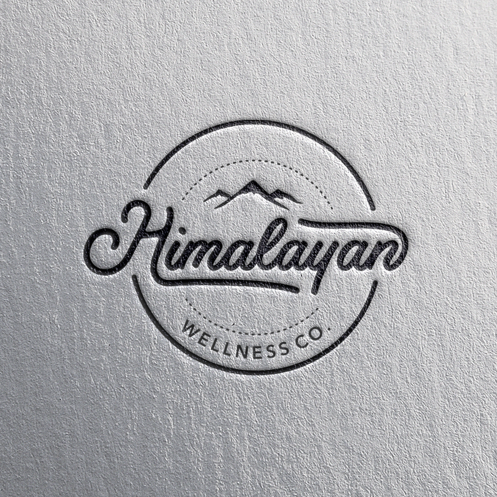 Logo design for Himalayan Wellness Co by involve