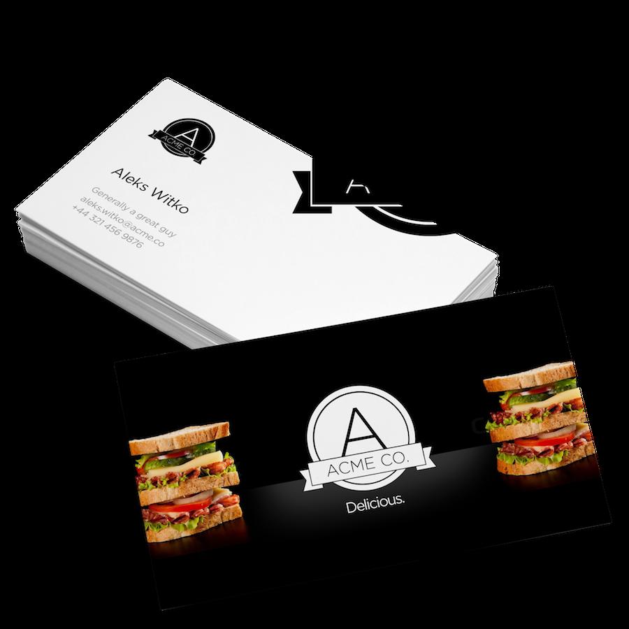 Logo business card design 8ea3986c